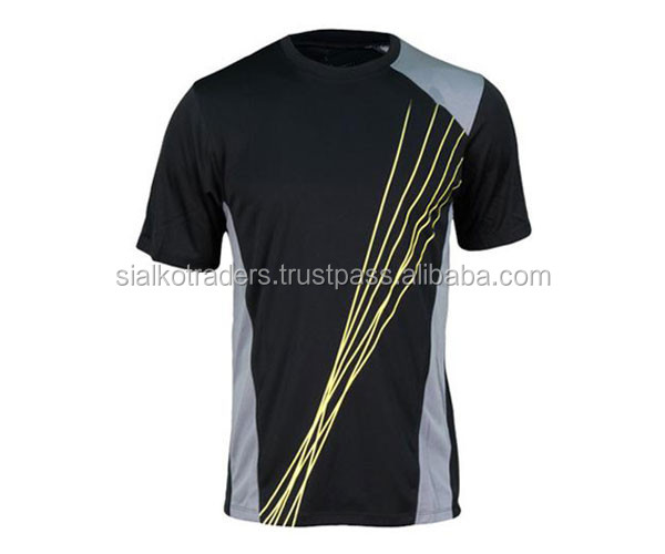 customized round neck tennis shirts