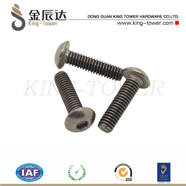 high tensible bed rail fasteners and screws (with ISO card)