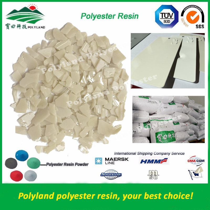 High Quality Spray Paint Raw Material Unsaturated / Saturated Polyester Resin Manufacturers From China Polyland Polyester