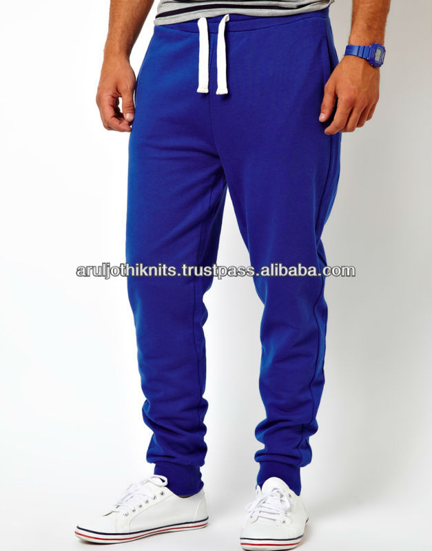 100% COTTON MENS TRACK PANT
