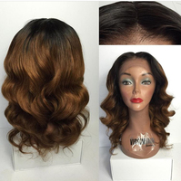 Top quality pretty brazilian virgin full lace marilyn monroe wig for fashion woman