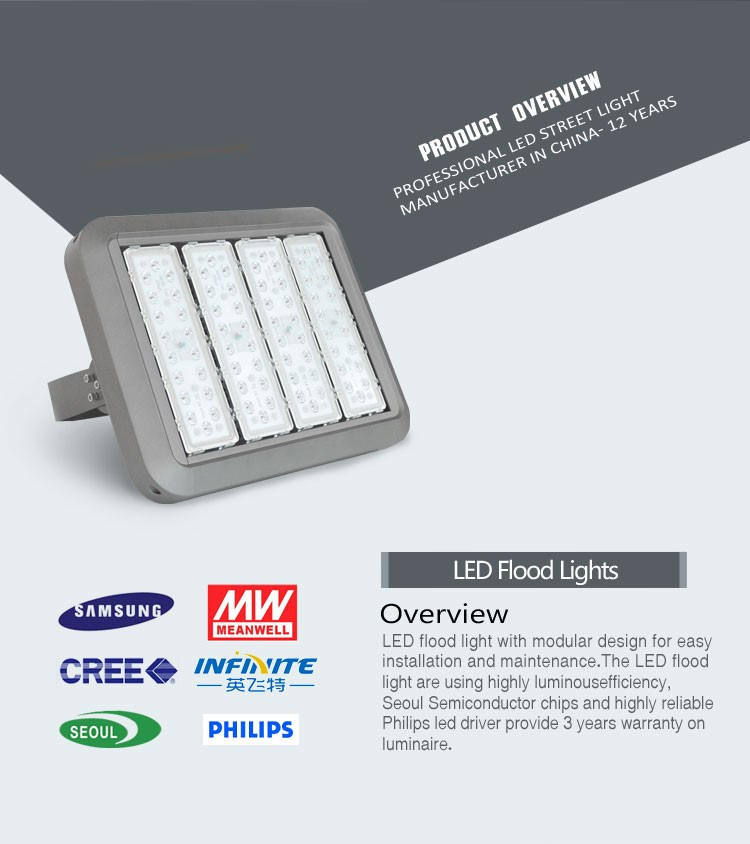 100w 150w 200w energy saving led outdoor flood light for lighting tower CE ROHS UL approved