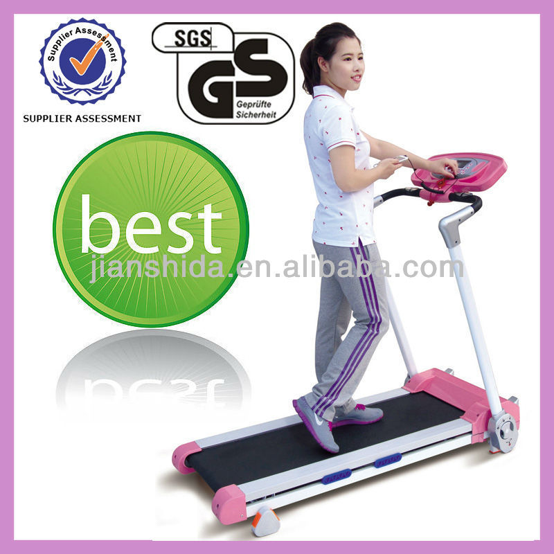 Free assembly 1.5HP Body Fit Treadmill with GS certification