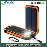 Wireless Charger Solar Charger Powerbank Power Bank Cross 12000Mah