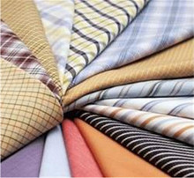 Woven Fabric Poly Cotton 65/35 Plaid Shirt Fabric Supplier