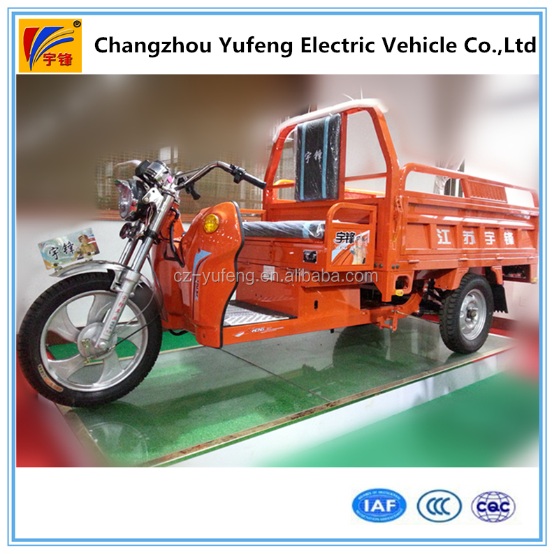 electric tricycle for cargo delivery
