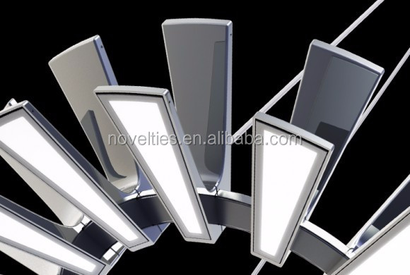 Acrylic led modern suspension office hanging lighting