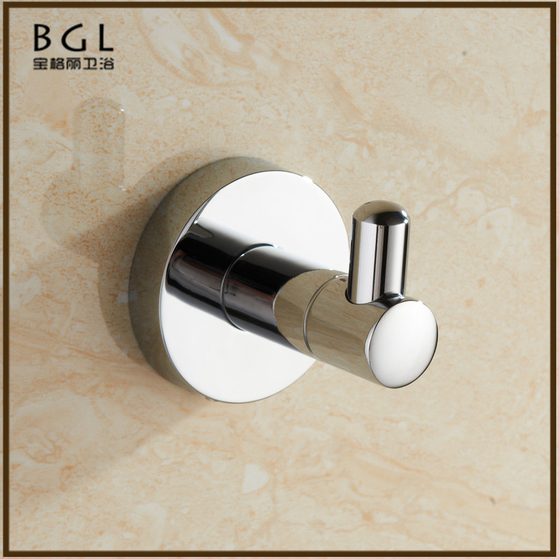 50735 Factory wholesale products wall mounted chrome robe hook zinc alloy bathroom accessories