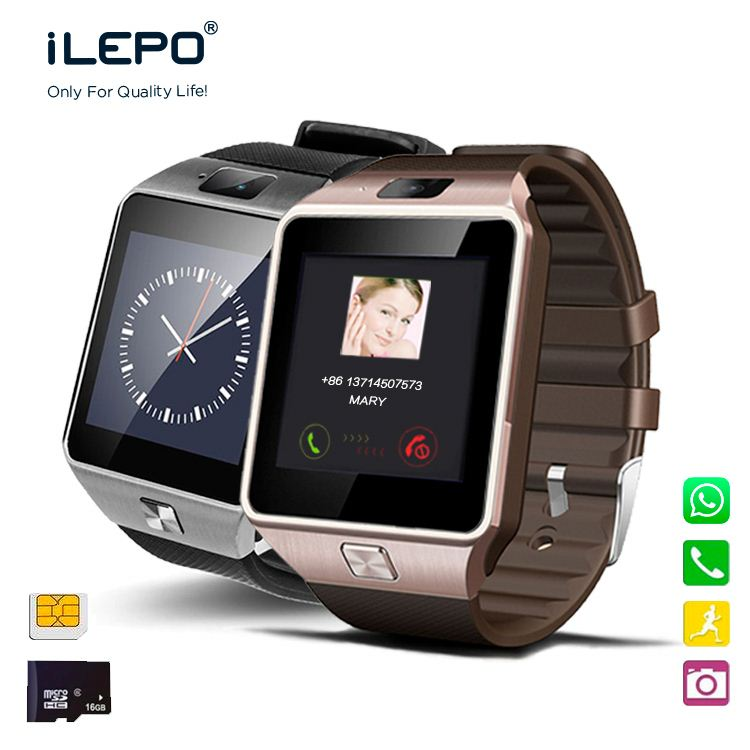 Phone calling round screen micro-sd slot k88 smart watch
