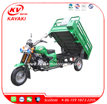 Kawasaki Motorcycle 200CC Air Cooled Van Cargo Tricycle Cargo Tricycle In China