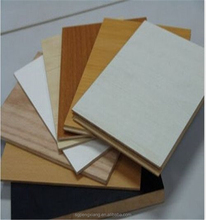 Various Colors 4x8 Standard Size Melamine Laminated MDF Board
