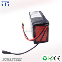 High quality OEM/customized 13S4P e-bike battery 48v 14ah li-ion battery pack with turn on/off switch for 750w 1000w motor power