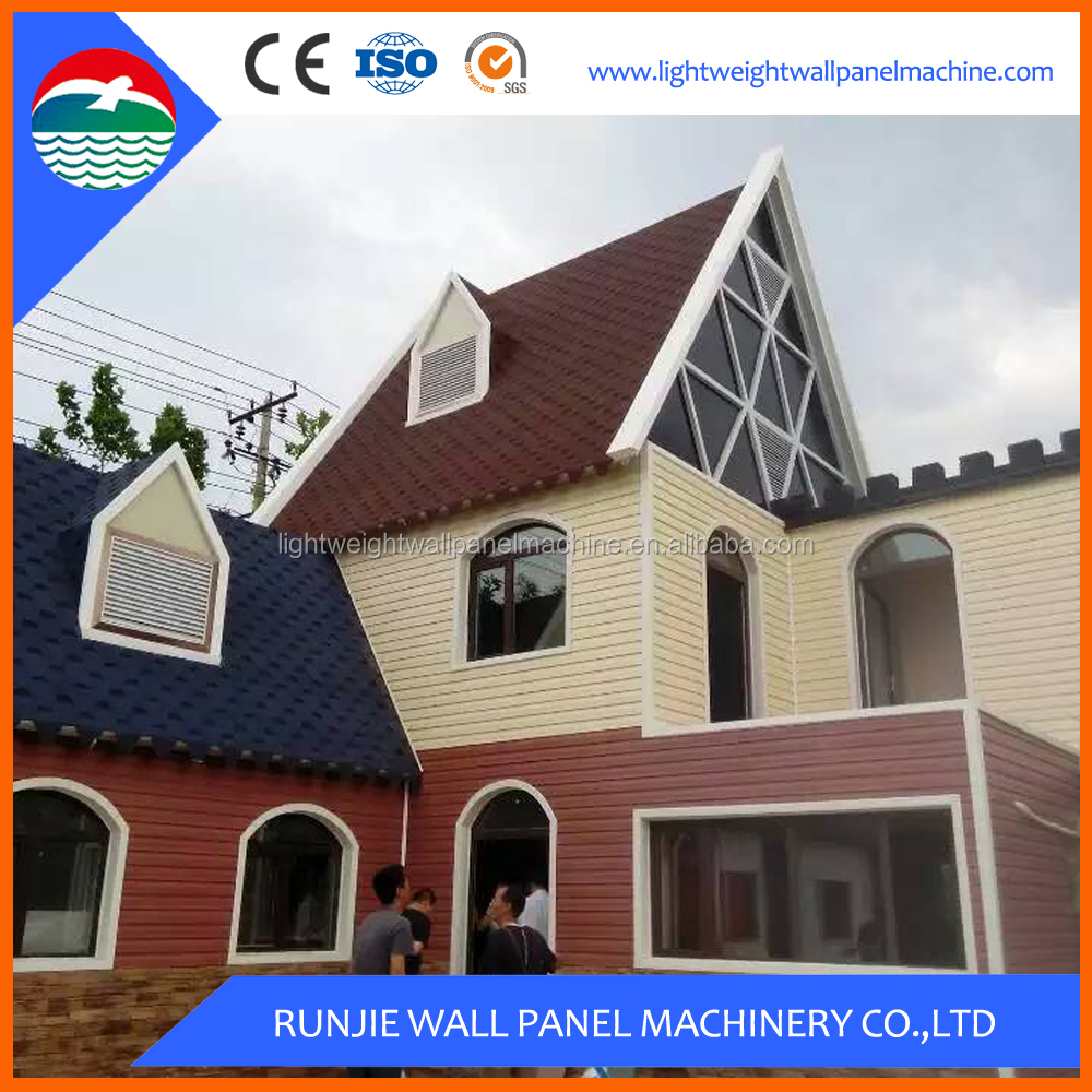 Quick Assembly Steel Frame Prefabricated House in uae