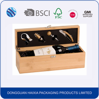 Hot sale wooden wine glass gift packaging box wholesale