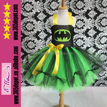 Summer handmade kids Tutu dress for Brazil carnival costumes