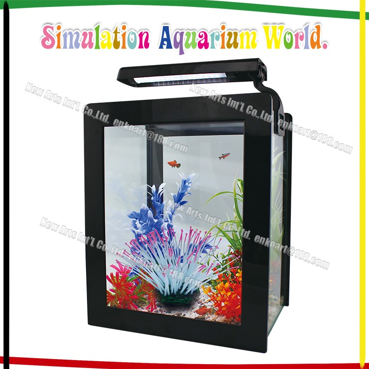 artifical Aquarium Fish Tank Silicone Sea Anemone Artificial decorations