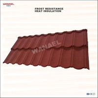 Wanael Classical Stone Chips Coated Aluminum-Zinc Lowes Corrugated Metal Roof