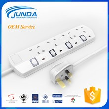 Alibaba best manufacturer uk 16a single phase socket south africa 220v power meter plug