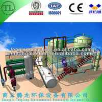 plastic oil distillation machine