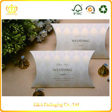 Wholesale custom paper recycled gift boxes/wedding candy gifts packaging boxes
