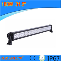 "Guangzhou auto parts led light bar 31.5"" 180w led offroad light bar for suv tractor light bar"