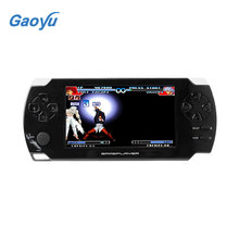 2017 ssdfly 4.3 Inch Handheld Game Players Ultra-Thin 8G Built In Memory Video Game Console MP5 Music Player White