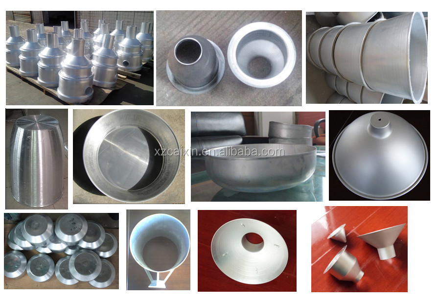 aluminum spinning parts, metal spinning parts, flow forming