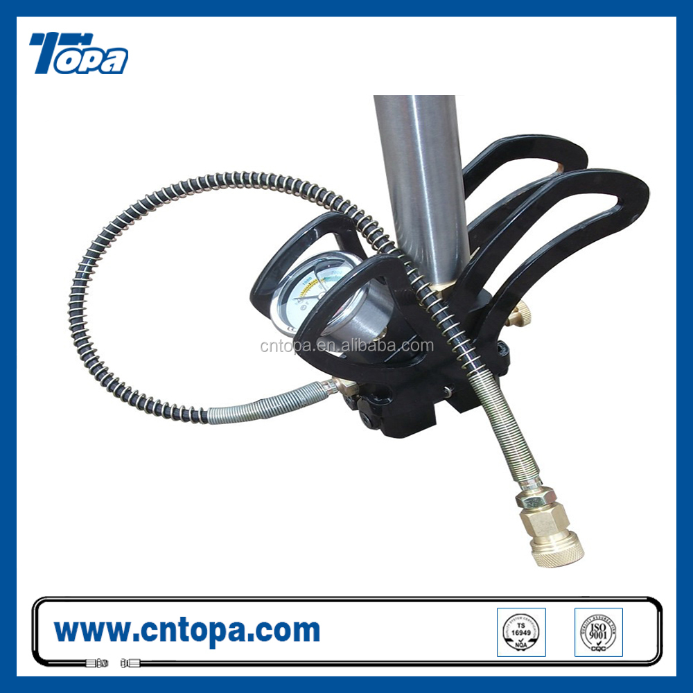 3 Stage OEM double barrel foot air pcp pump With fliter