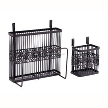 Metal Kitchen Wall Hanging Wire Kitchen Plate Dish Rack