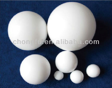 teflon valve ball of different size