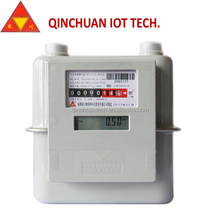 natural gas flow gas meter g1.6 with ic card