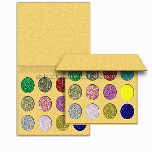 12 colors eye shadow Golden onion powder sequins, pearlescent, matte shadow
