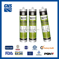 S211 gp waterproof and paintable acrylic adhesive sealant