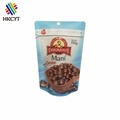Alibaba Gold Supplier Personalized Roasted Clear Plastic Nuts Packaging Bags