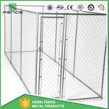 Large outdoor chain link dog kennels & dog cages & dog runs dog fence (manufacture)