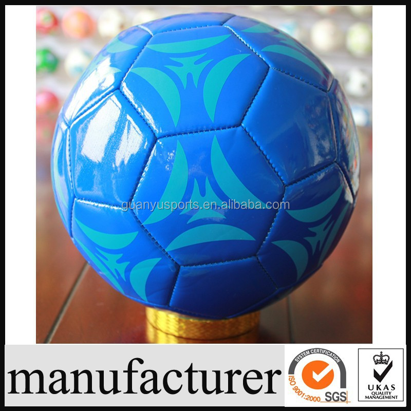 GY-B591 Promotional Size 5 Machine Sewn PVC Football Soccer