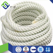 double braided polydacron polyester dacron multifilament diamond braided anchor towing ropes 16mm