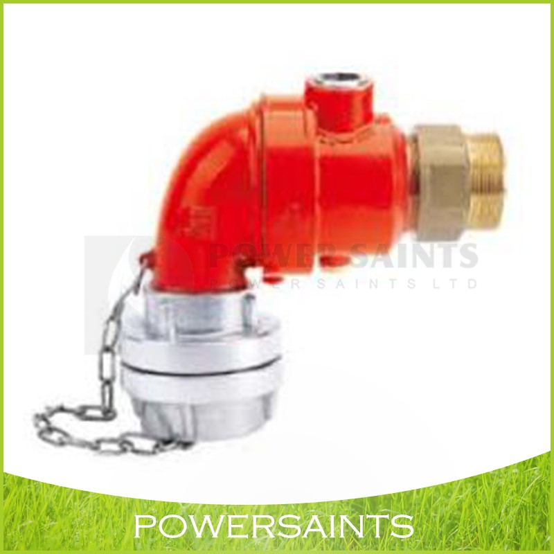 Fire Hydrant/fire pillor/ breeching inlet valve with pamper connectionou