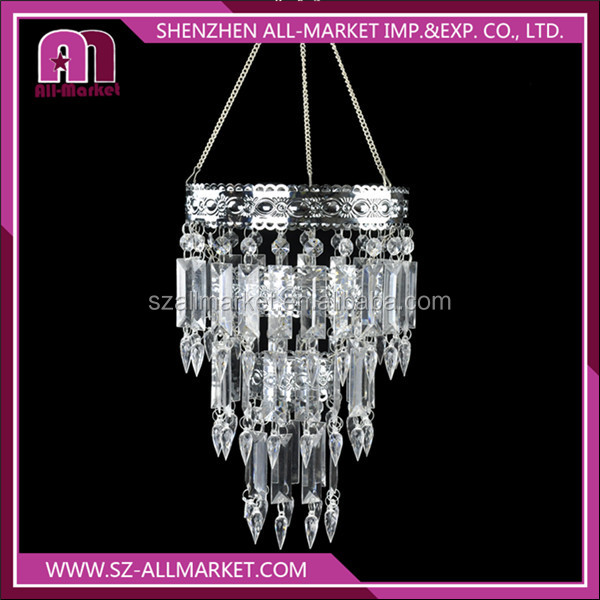 AM137L-47k Wedding decoration acrylic Beads light cover