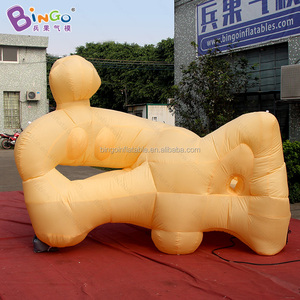 Air pop up cartoon model Inflatable 3D Art soft sculpture for display
