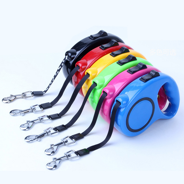 High Quality Factory Direct Sale Custom Nylon Retractable Dog Collar Leash