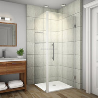 NF90-FLORA-frameless Over lapping hinge cabinet 6-8mm shower enclosure/ bath cabinet australia and new zealand/ CE standard