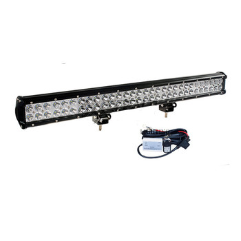Hot Sales 180W Double Rows 28inches LED Offroad Car ATV Jeep 4X4 Roof Head Driving Working Light Bar