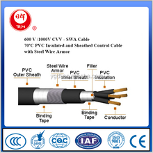 600V 1000V Armoured control cable with CVV - SWA