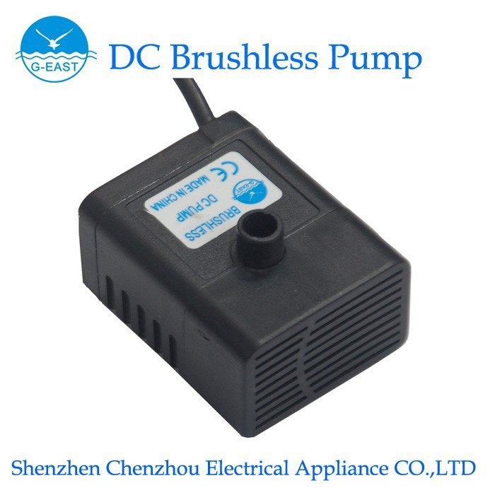 Hot Electric centrifugal Mini Submersible Brushless silent DC Water Pump solar water pump for air cooler