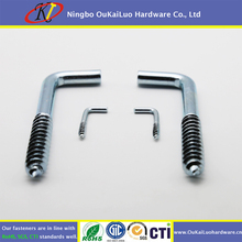 Carbon steel L type hook screws