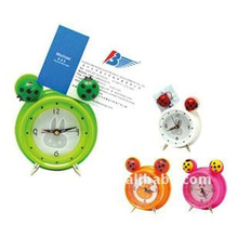 Multifunctional Alarm Clock with name card holder