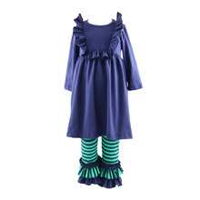 Wholesale Children Clothing Sets Girls Boutique Fall 2017 Children's 2pcs Outfits