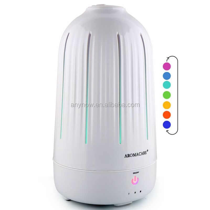 LED ultrasonic mini aromatherapy diffuser ionizer humidifier