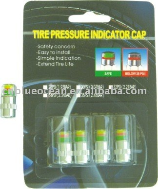 tire gauge cap